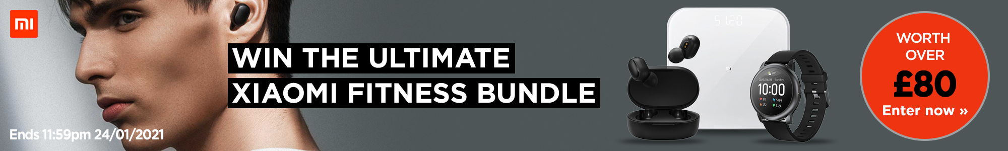 Enter our giveaway to win the ultimate fitness bundle from Xiaomi