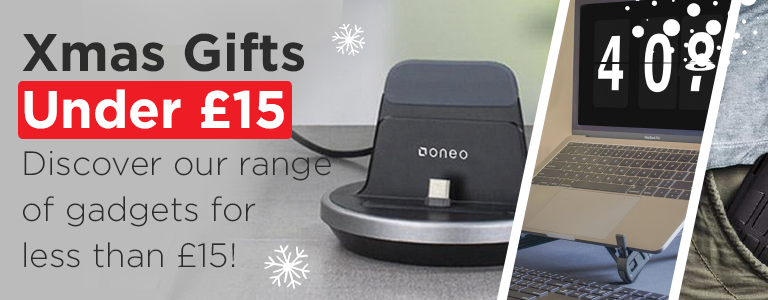 Discover our range of Christmas gifts for less than £15